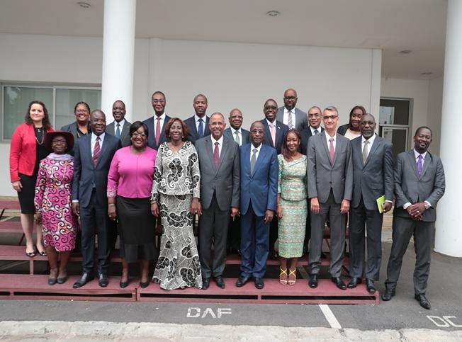IRésolutions de la première réunion du Conseil d'Administration du Millennium Challenge Account - Côte d'Ivoire